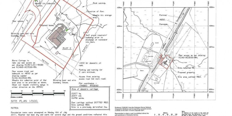 Site and Location plan