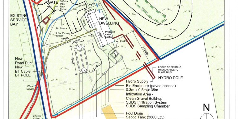 Site layout for planning