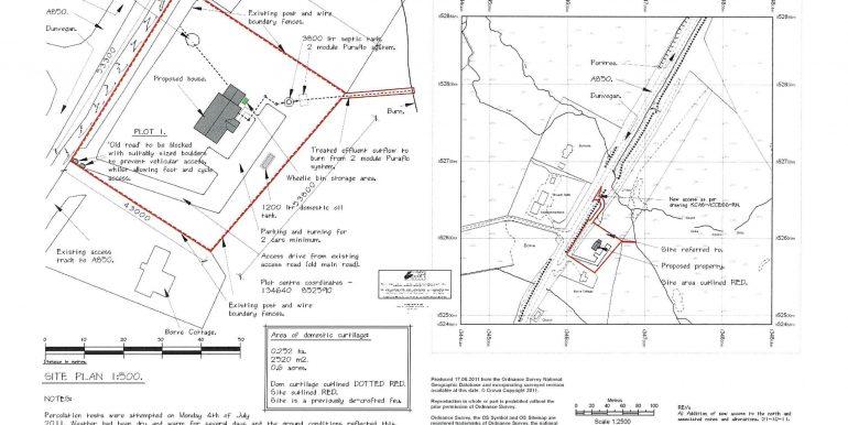 Plot 1 - site plan